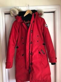 red and black button-up coat Halifax, B3T 1N9