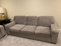 Gray Sofa from Havertys- excellent quality and condition (like new)  Rockville, 20852