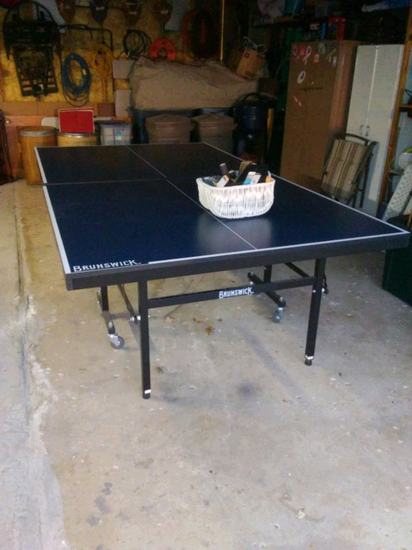 Used Brunswick Smash Xc5 Ping Pong Table 350 O B For In Melvindale Letgo