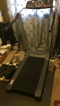 Black and gray automatic treadmill Suitland, 20746