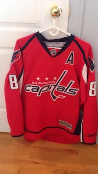 Washington Capital  Ovechkin #8 Official Nhl jersey