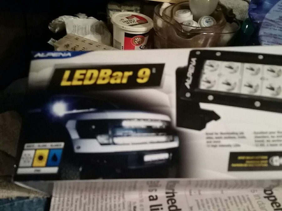 Used alpena led bar 9 in Collinsville