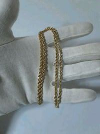 """Authentic 14k Gold Rope Chain 22"""" Middletown, 19709"""