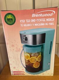 New - Brentwood Ice Tea & Coffee Maker, Model # KT-2150 BL Baltimore, 21236