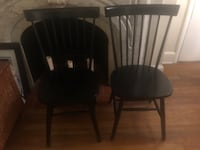 Black Windsor Style Chairs (Set of 2) Baltimore, 21201