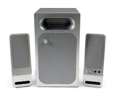 Altec Lansing VS2321 2.1 Powered Audio System very good for your mobi