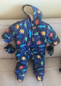 Snowsuit for boy baby