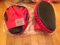 New boxing mitts 42 km