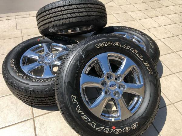 Ford F150 Factory Rims For Sale >> 2018 Ford F150 Rims And Tires
