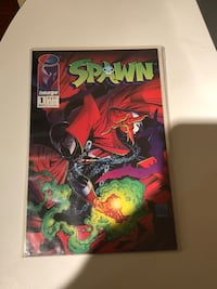 SPAWN #1 COMIC BOOK.  MINT CONDITION Toronto, M1S 1V9