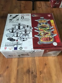 Swiss Zurich 16 piece pot set King, L7B 1L1