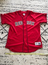 Majestic Boston Red Sox Jersey. Size large  Vancouver, V5S 4Y1