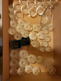 Wine glasses small sizes approx 30 pieces Brampton, L6Y 4X8