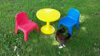 Kids table, chairs and pails/buckets Church Hill, 37642