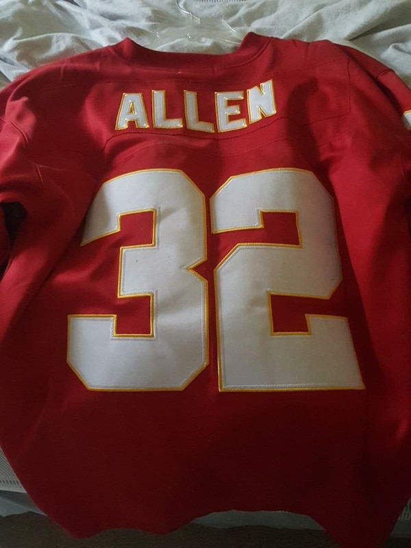 brand new 21aa7 50770 Mitchell and Ness Marcus Allen Chiefs
