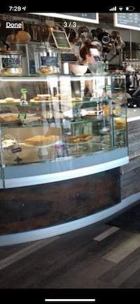 Baking commercial display case