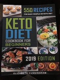 Brand new Keto  cook book