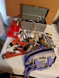 Tools lot Manassas Park, 20111