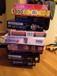 12 puzzle boxes. Some new also. 6637 km