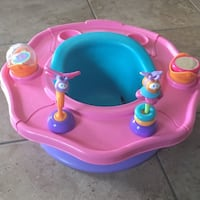 baby's pink and blue activity saucer El Paso, 79936