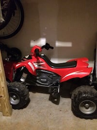 red and black ATV ride-on toy Frederick, 21703