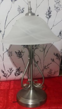 Twin Light Table Lamp