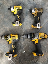 Dewalt cordless impacts and drills $60 each