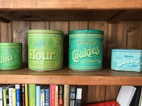 Vintage tins (set of 4) Arlington, 22201