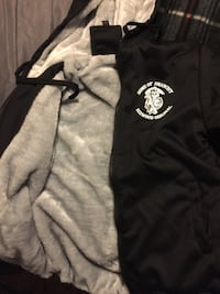 Black and white SONS OF ANARCHY hoody 529 mi