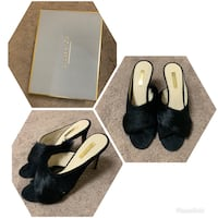 Brand New Louise Et Cie Real Fur heels size 10 Brampton, L6T