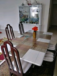 Dining table &6chair $150, China cabinet$100 Orlando, 32824