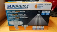 Sun force Triple Head Solar Motion Lights