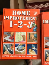 Large hardcover  book Home Depot home improvement Alhambra, 91803