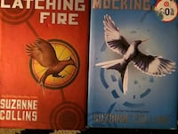Hardcover hunger games catching fire book Buena Park, 90620