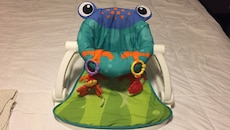 Fisher-price seat me up frog floor seat