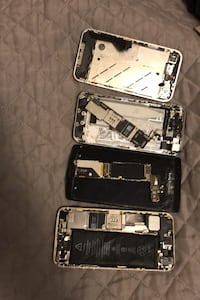 iPhone 5s and 4 parts