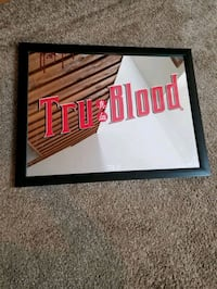 tru blood mirrored picture. great for a bar. Virginia Beach, 23454
