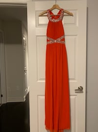 Coral evening gown size small Markham, L3P 0W4