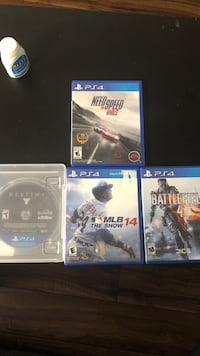 PS4 games looking to sell or trade