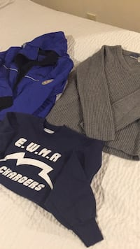 L.L.Bean sweater and weather proof jacket Gainesville, 20155