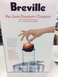Breville - The Juice Fountain Compact - BRAND NEW! Mississauga, L5J 1J7