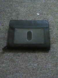black leather bifold wallet York, 17403