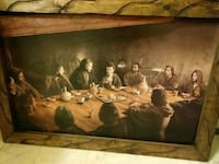 First supper oil painting Sacramento, 95822