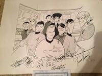 Signed Lithograph  Hightstown, 08520
