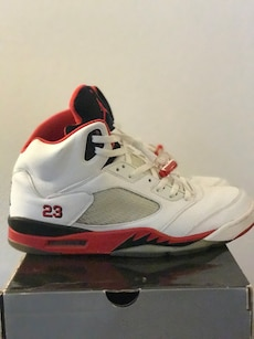 Retro Jordan 5's both pair for price listed size 13