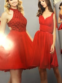 women's red sleeveless dress Rancho Cucamonga, 91730