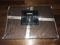 Hotel New York brown embossed sheet set- Full, New! Arlington, 22202