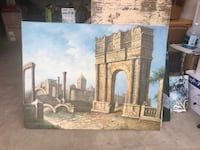 Arch de triomphe painting Antioch, 60002