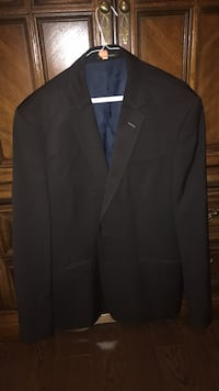 MeXX Black with Blue Stripes Sports Jacket. Slim Fit, Wool Blend. Fits Like A North American L/XL. Willing To Negotiate On Price 100% Toronto