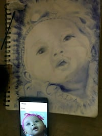 PORTRAIT ART FOR SALE! ARTIS DRAWINGS & SKETCHES Atlanta, 30339